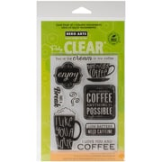 "Hero Arts® Clear® 4"" x 6"" Stamp Set, Need Caffeine"