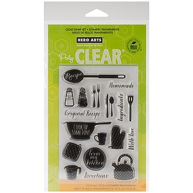 Hero Arts® Clear® 4in. x 6in. Stamp Set, Cook Up Some Fun