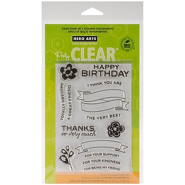 Hero Arts® Clear® 4in. x 6in. Stamp Set, For Your Kindness