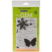Hero Arts® Clear® 4 x 6 Stamp Set, Butterfly and Flower