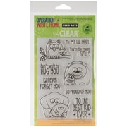 "Hero Arts® Clear® 4"" x 6"" Stamp Set, Lil Hoot"