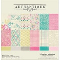 Authentique™ Paper Flourish Paper Pad, 12in. x 12in.