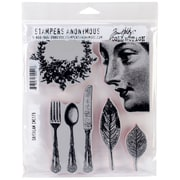 """Stampers Anonymous Tim Holtz® 7"""" x 8 1/2"""" Cling Stamp Set, Daydream"""