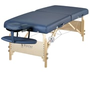 "Master Massage® Coronado™ Therma-Top® LX 30"" Portable Massage Table Package, Royal Blue"