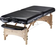 "Master Massage® Gibraltar™ LX 32"" Portable Massage Table Package, Black"