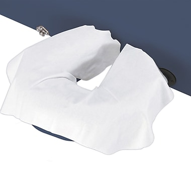 Master Massage® Disposable Face Pillow Covers, Natural White, 100/Pack
