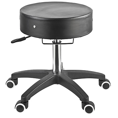 Master Massage The Glider™ Adjustable Rolling Stool, Black