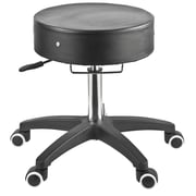 Master Massage® The Glider™ Adjustable Rolling Stool, Black