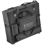 Master Massage® Universal Wheeled Carrying Case, Black