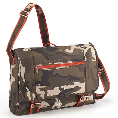 Lug Jockey Messenger Bag, Camo Olive