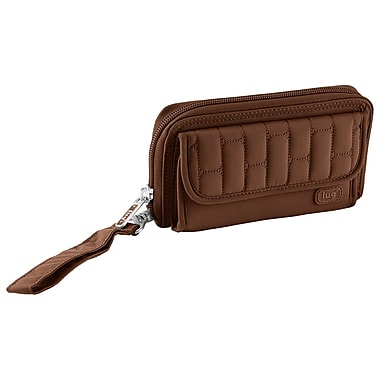 Lug Kick Flip Convertible Wallet, Chocolate
