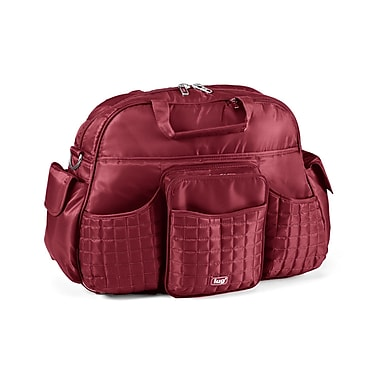 Lug Tuk-Tuk Carry-All Bag, Cranberry