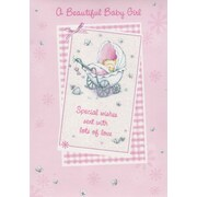 Greeting Cards, A Beautiful Baby Girl, 18/Pack