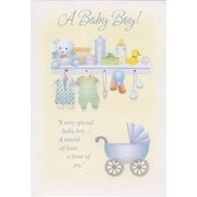 Greeting Cards, A Baby Boy!, 18/Pack