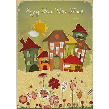 greeting cards enjoy your new home 18 pack staples