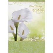 Greeting Cards, With Caring Sympathy, 18/Pack