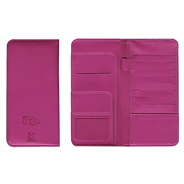 Pierre Belvedere Travel Wallet, Fuchsia