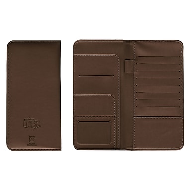Pierre Belvedere Travel Wallet, Chocolate