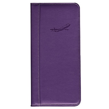 Pierre Belvedere Travel Wallet, Plum