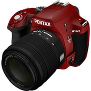 Pentax K-50 10985 Digital SLR Camera ,Red