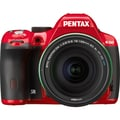 Pentax K-50 Lens Kit with DA 18-135 WR 11008 Digital SLR Camera ,Red