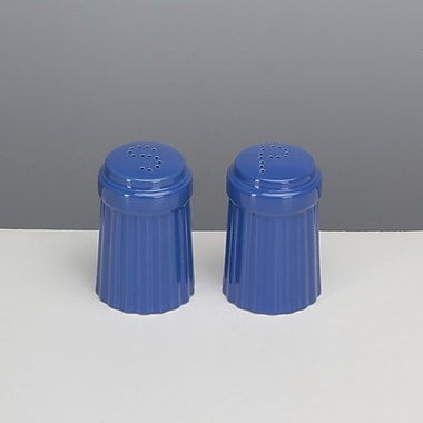 Omniware Simsbury Salt and Pepper Set; Blue