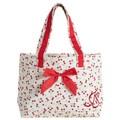 Jessie Steele Retro Cherry Tote Bag with Bow