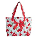 Jessie Steele Kitchen Cherry Tote Bag with Bow