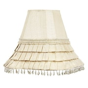 Jubilee Collection 10.5'' Square Lamp Shade; Ivory
