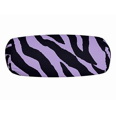 Karin Maki Zebra Neckroll Bolster Pillow; Lavender