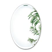 Alno Tapered Bevel Mirror; 31.25'' H x 21.25'' W