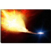 iCanvas Supernova Companion Star (2004) Graphic Art on Wrapped Canvas; 26'' H x 40'' W x 0.75'' D