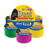 Bazic Yard Assorted Fluorescent Colored Duct Tape (Set of 36)