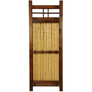 Oriental Furniture Japanese 4' x 1.5' Kumo Fence