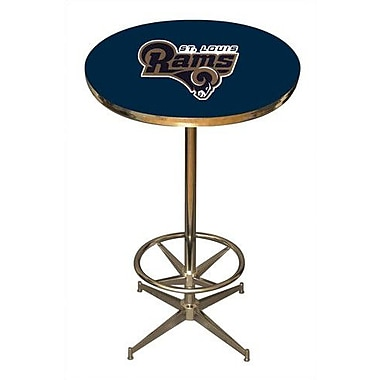 Imperial NFL Pub Table; St. Louis Rams