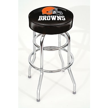 Imperial NFL Team Logo 30'' Swivel Bar Stool; Cleveland Browns