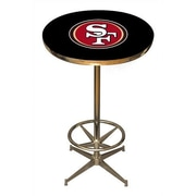 Imperial NFL Pub Table; San Francisco 49ers
