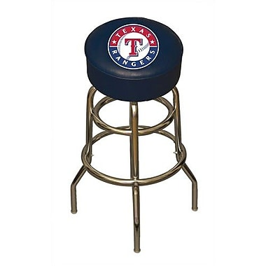 Imperial MLB 30'' Swivel Bar Stool; Texas Rangers