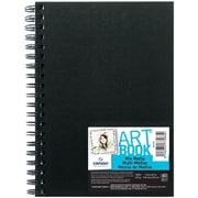 Canson Mix Media Wirebound Book; 8.5'' H x 5.5'' W