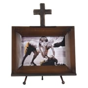 Wilco Cross Metal Picture Frame; 5'' x 7''