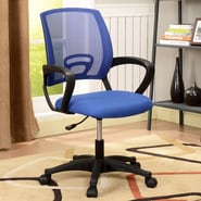 InRoom Designs Mid-Back Mesh Office Chair; Blue