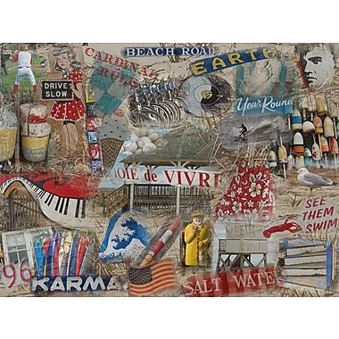 Graffitee Studios Cape Cod Joie de Vivre - Orleans Graphic Art on Wrapped Canvas