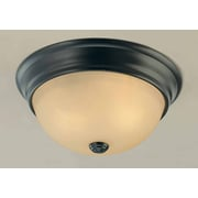 Volume Lighting Minster 2 Light Ceiling Fixture Flush Mount
