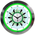 Neonetics 15'' Golf Neon Clock