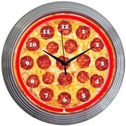 Neonetics 15'' Pizza Neon Clock