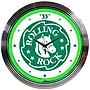 Neonetics 15'' Rolling Rock Beer Neon Clock