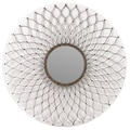 Woodland Imports Classy Floral patterned Unique Mirror