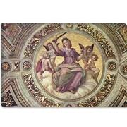 iCanvas 'Stanza Della Segnatura' by Raphael Graphic Art on Wrapped Canvas; 12'' H x 18'' W x 1.5'' D