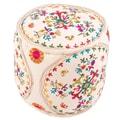 Jaipur Rugs Vivid Modern Pouf Ottoman; 16''x16''x16''