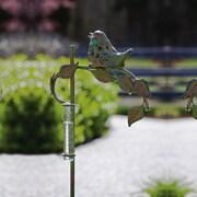 Evergreen Flag & Garden Garden Stake with Rain Gauge